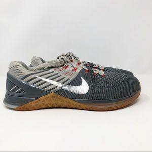 Nike Metcon DSX FlyKnit Sneaker Gray 10.5
